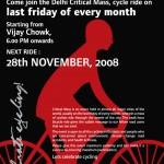 Delhi Critical Mass Poster