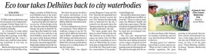Delhi Greens Urban Ecotourism Indian Express