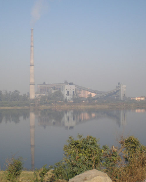 Thermal Power Plant on the bank of river Yamuna, at ITO, next to the Delhi Secratariat