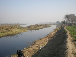 Yamuna River at ITO