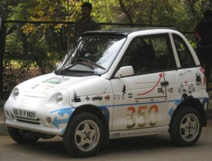 A Reva Car to 350, a Hopeful India Climate Solutions Road Tour