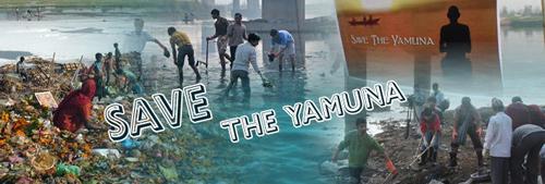Yamuna Cleanup Campaign During NDTV-Toyota Greenathon