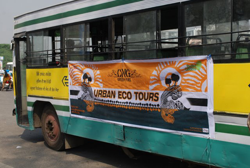 The North Delhi Urban Ecotour on World Water Day