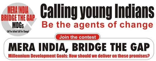 Mera India: Bridge the Gap Contest