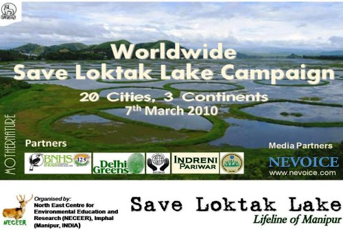 Invite: Worldwide Save Loktak Campaign at Gandhi Darshan