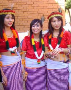 Manipuri Dance Performers