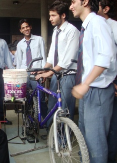 Cycle Jugaad at UPES