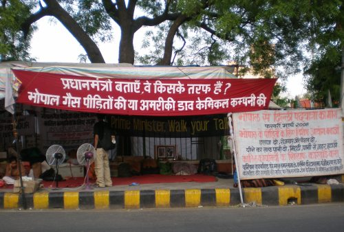 Rally for Justice in Bhopal: Don't let Government Betray Bhopal Again