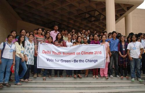 A New End – Report on Delhi Youth Summit on Climate, 2010