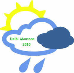 Delhi Monsoon 2010 Logo