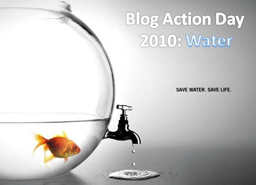 October 15th 2010: Global Blog Action Day on Water!