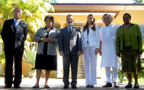 Jairam Ramesh and other members of the BASIC countries