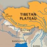 Tibetan Plateau and India