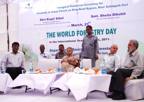 CM on World Forestry Day 2011
