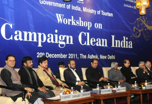 Tourism Ministry Holds National Workshop to Initiate Clean India Campaign in 2012