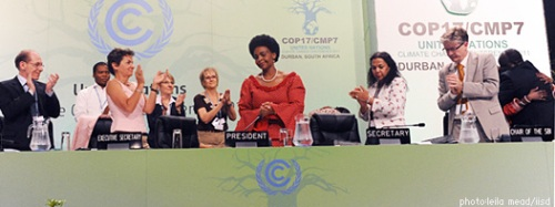 COP 17 on Climate Change Concludes at Durban: Kyoto Protocol Extended Beyond 2012