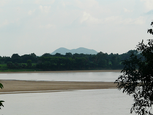 River Damodar in Bengal