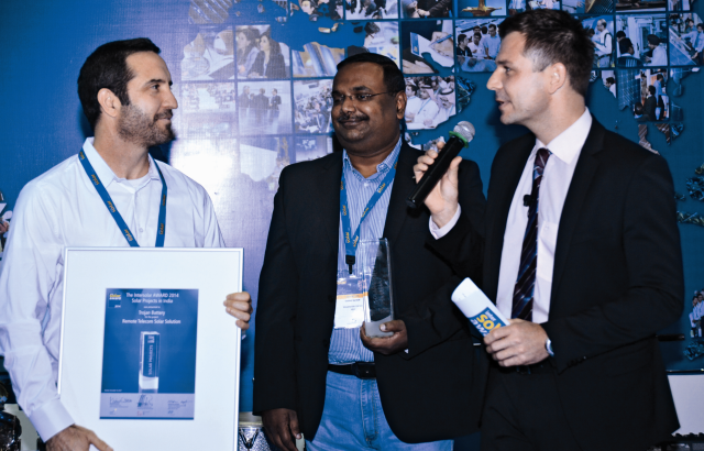 Remote Telecom Project Wins Intersolar India Solar Projects Award