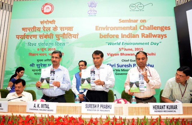 Go Green Indian Railways, On World Environment Day 2015