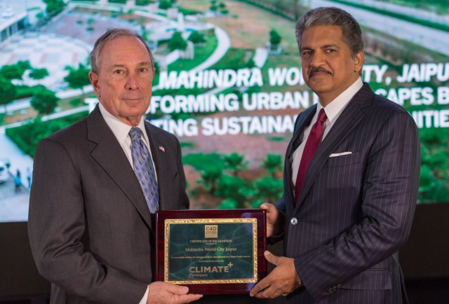 Mahindra World City Jaipur Becomes First Asian Project to Receive C40 Stage 2 Certification