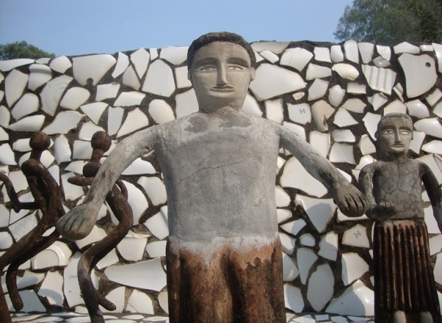 Waste Marvel Rock Garden's Creator Nek Chand Frozen in History