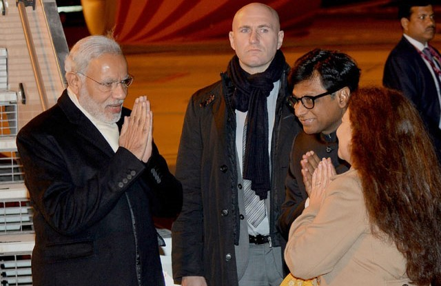 Prime Minister Narendra Modi Reaches Paris for COP21
