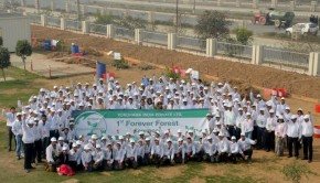 Yokohama to Plant 12100 Trees for Forever Forests in India