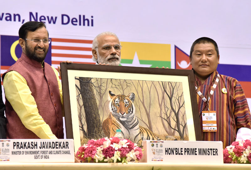 Consider Tiger as Natural Capital to Achieve Development: PM