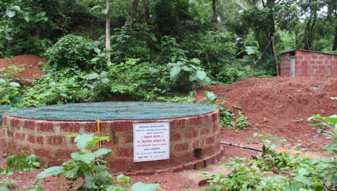 Well constructed by FInolex Industries Ltd. in Kolambe district