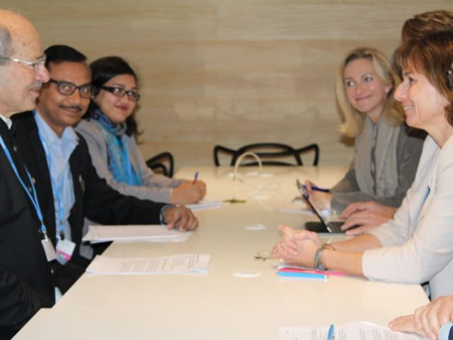 Env Minister at the UNFCCC CoP 22 Preparation Meeting in Morocco