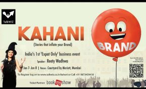 Invitation to Kahani in Mumbai, Stories that Inflate Your Brand