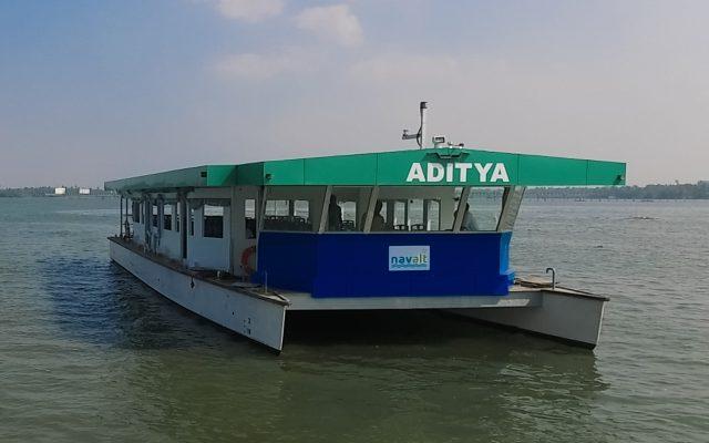 India's First Solar Boat Aditya Launched in Kerala by Piyush Goyal