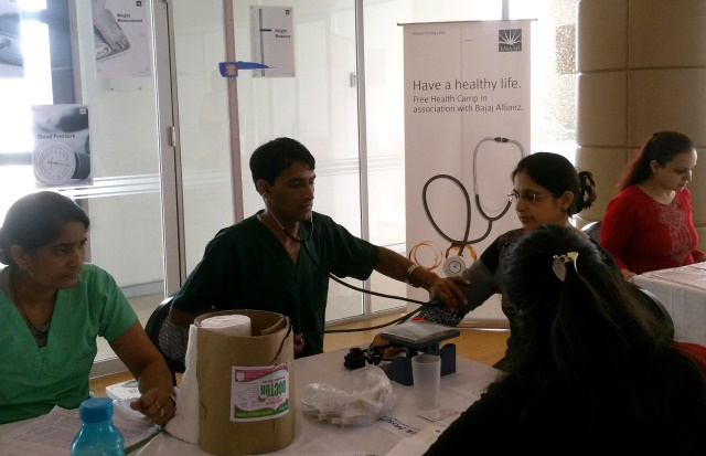 Emaar India Organises Health Check-up Camp