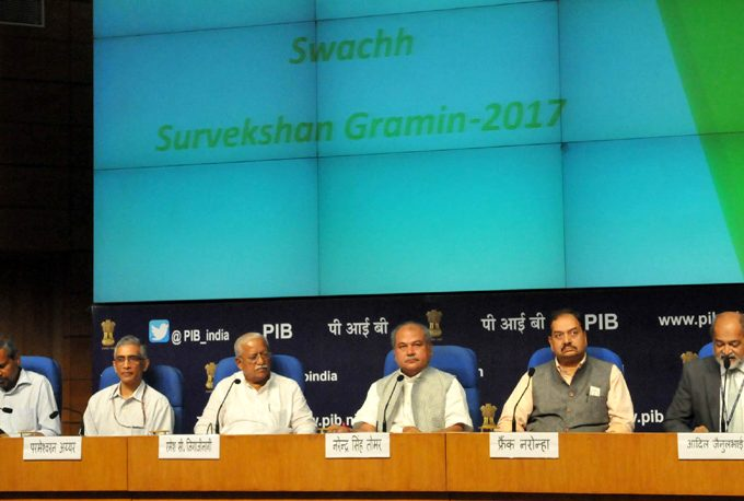 Swachh Sarvekshan 2017 Survey Report Released by Government