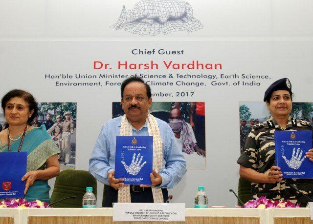Sashastra Seema Bal Organises Seminar on Combating Wildlife Crimes