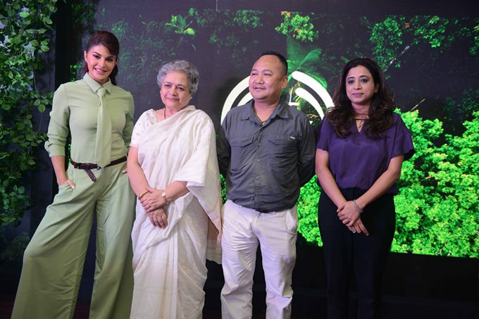 Jacqueline Fernandez and The Body Shop Promote Ecological Corridors in India
