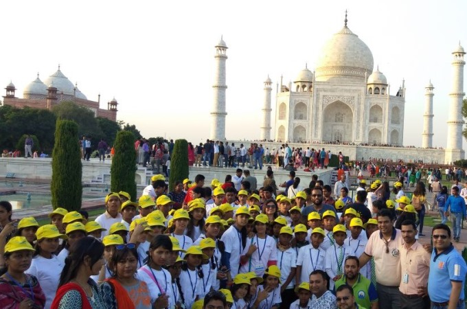 500 Children Taken On the Flight of Fantasy on World Tourism Day