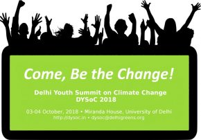 Fourth Delhi Youth Summit on Climate Change Now Open for Registrations