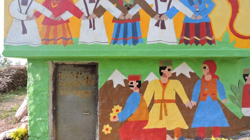 Wall Mural Art Attempt to Reverse Migration from Uttarakhand Villages