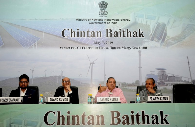 Renewable Energy Ministry Holds Chintan Baithak Amidst Climate Crisis