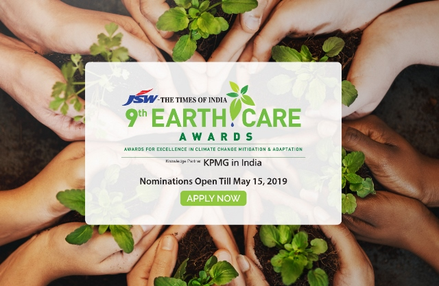 JSW ToI Earth Care Awards Invite Nominations for 2019