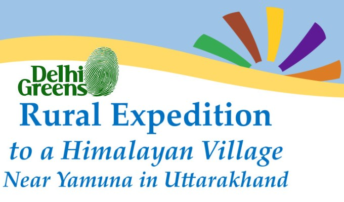 Delhi Greens Rural Immersion Expedition Invites Participation