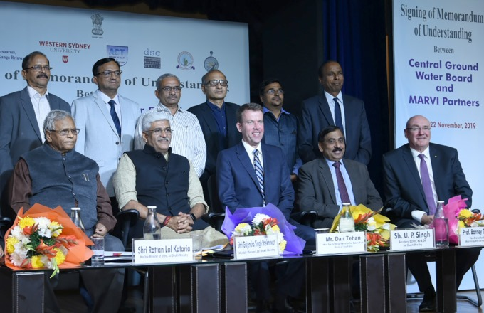 India Signs MoU with Australia for Ground Water Conservation