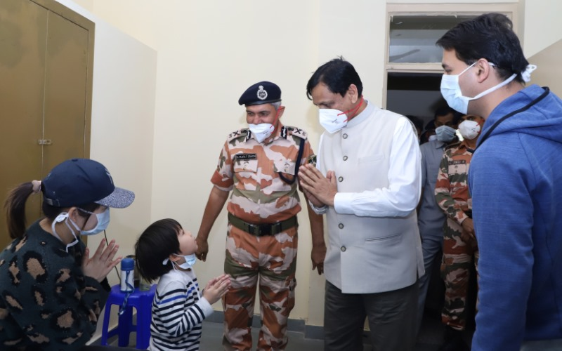 Coronavirus Quarantined Indians Vacate ITBP Camp at Delhi