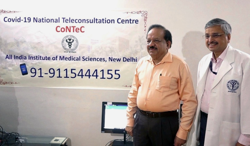 Health Minister Launches COVID-19 National Teleconsultation Centre