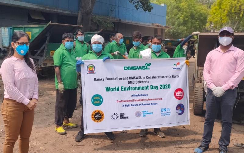 North MCD Celebrates Environment Day with Month Long Activities