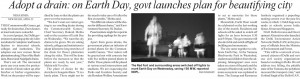 Delhi Govt launches adopt a drain program