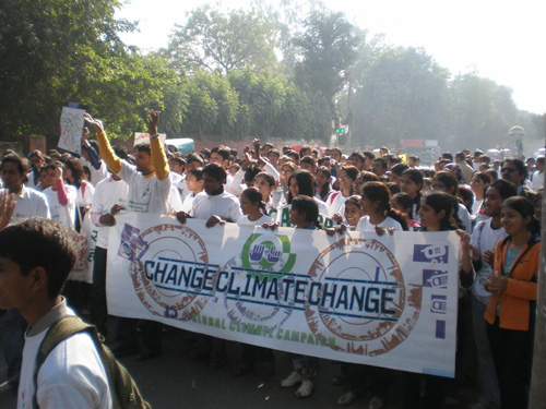 Global Day of Climate Action at DU