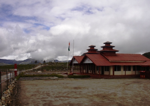 Maitri Sthal at BumLa, the highest Pass to Tibet