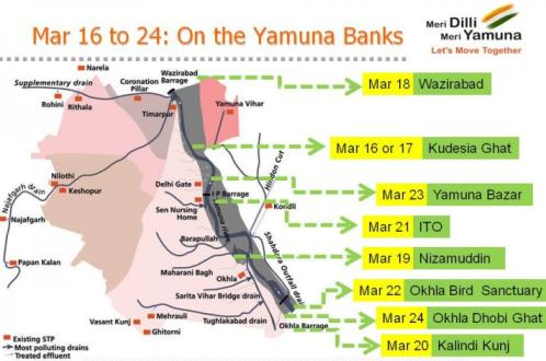 8 Days, 8 Ghats: Yamuna Bank Cleaning Drive